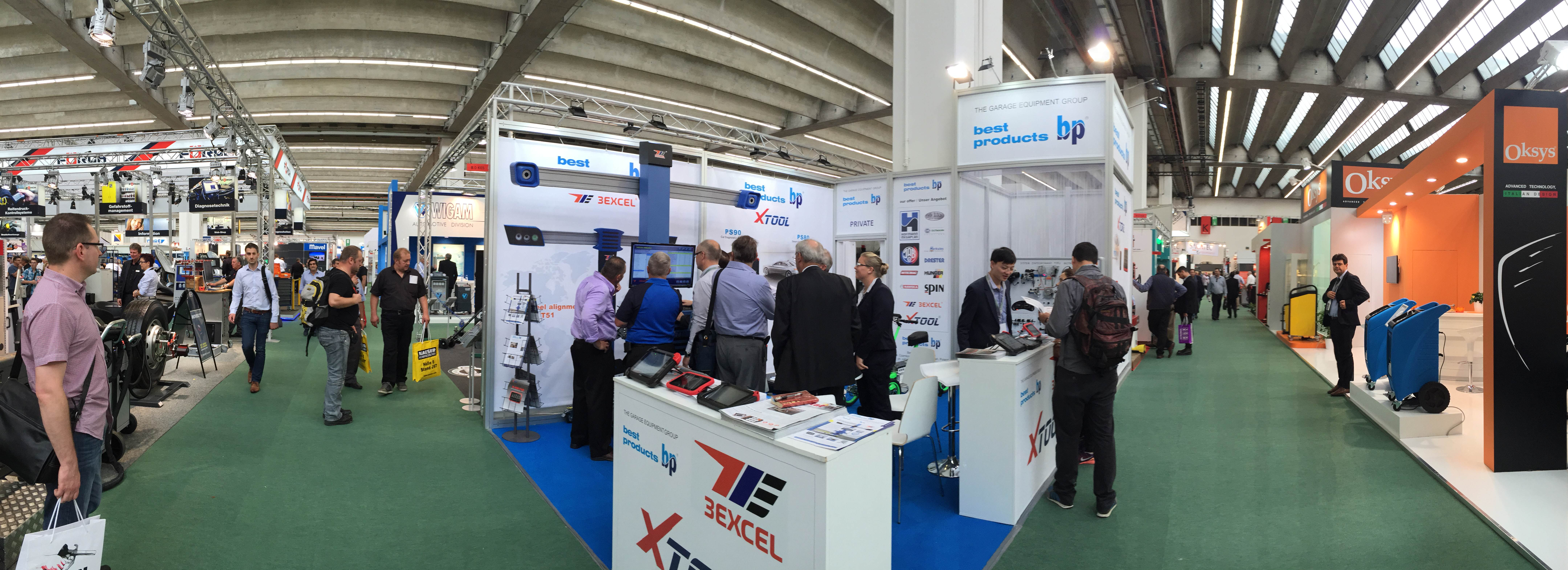 Stoisko Best Products na Automechanice 2016