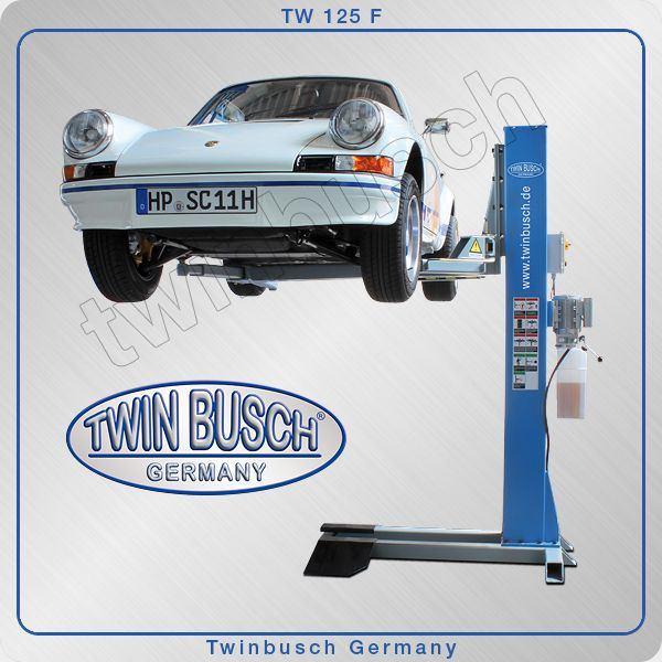 Poważne PODNOŚNIKI JEDNOKOLUMNOWE: Podnośnik jednokolumnowy Twin Busch TW 125F QC55